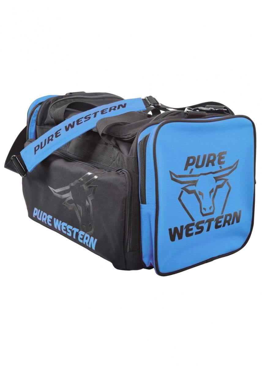 Pure Western Gear Bags Large / Blue Pure Western Gear Bag Large