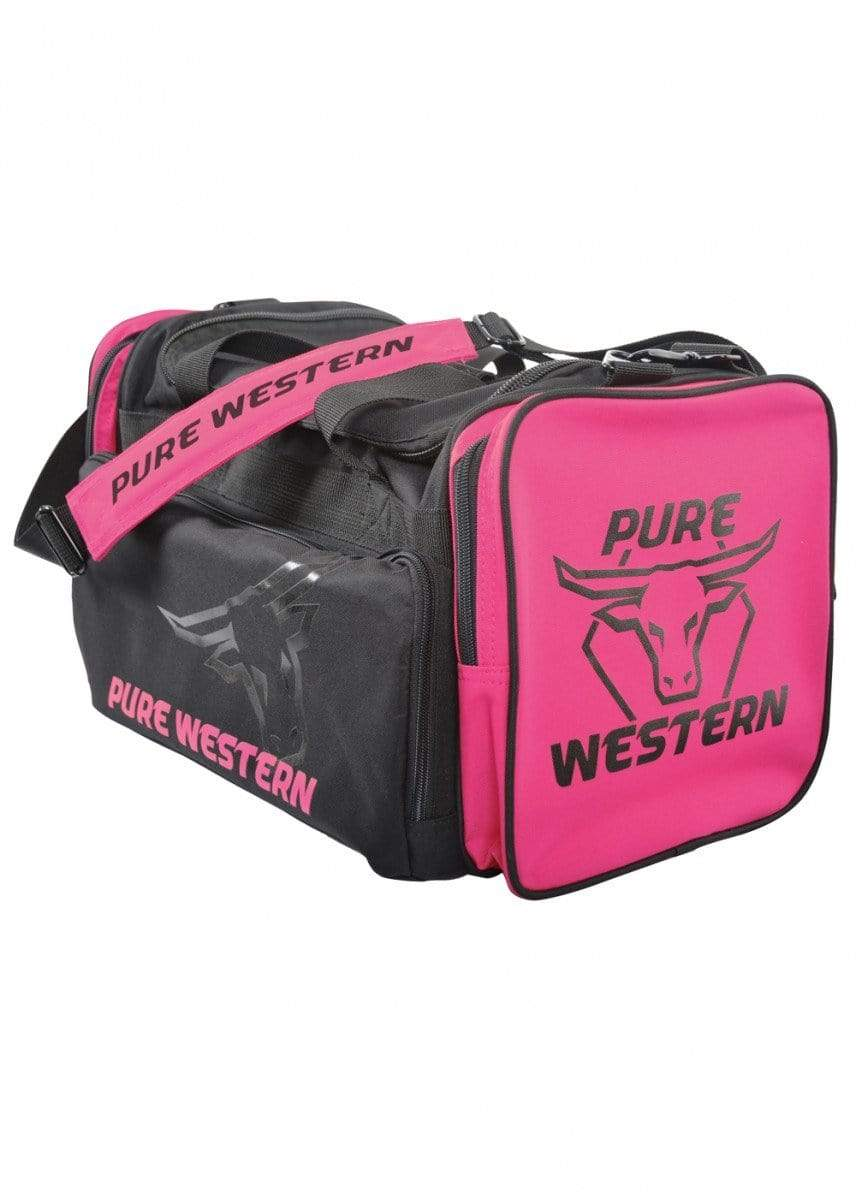 Pure Western Gear Bags Large / Pink Pure Western Gear Bag Large