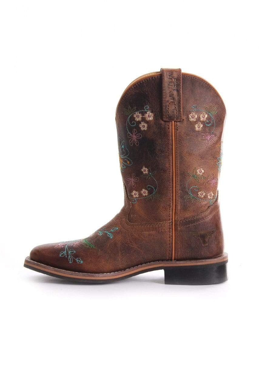 Pure Western Toddler Maybelle Boots (PCP78047T) - Gympie Saddleworld & Country Clothing