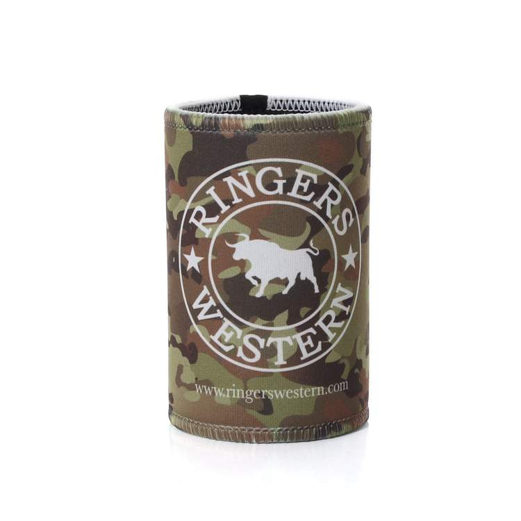 Ringers Western Stubbie Cooler Signature Bull camo - Gympie Saddleworld & Country Clothing