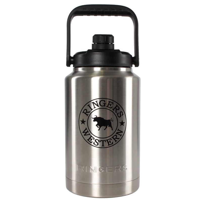 Ringers Western Gifts & Homewares 3785Ml / Stainless Ringers Western Big Gulper Insulated Bottle 419237004