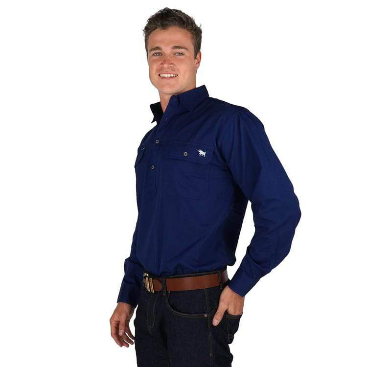 Ringers Western King River Work Shirt - Gympie Saddleworld & Country Clothing