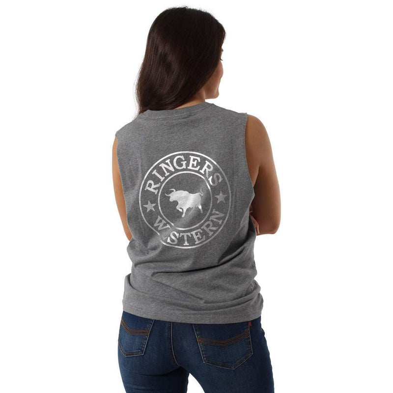 Ringers Western Womens Classic Muscle Tank - Gympie Saddleworld & Country Clothing