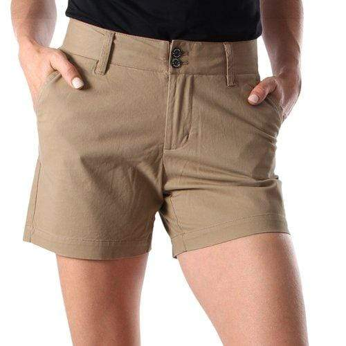 Womens shorts Ringers Western Alice Sand - Gympie Saddleworld & Country Clothing