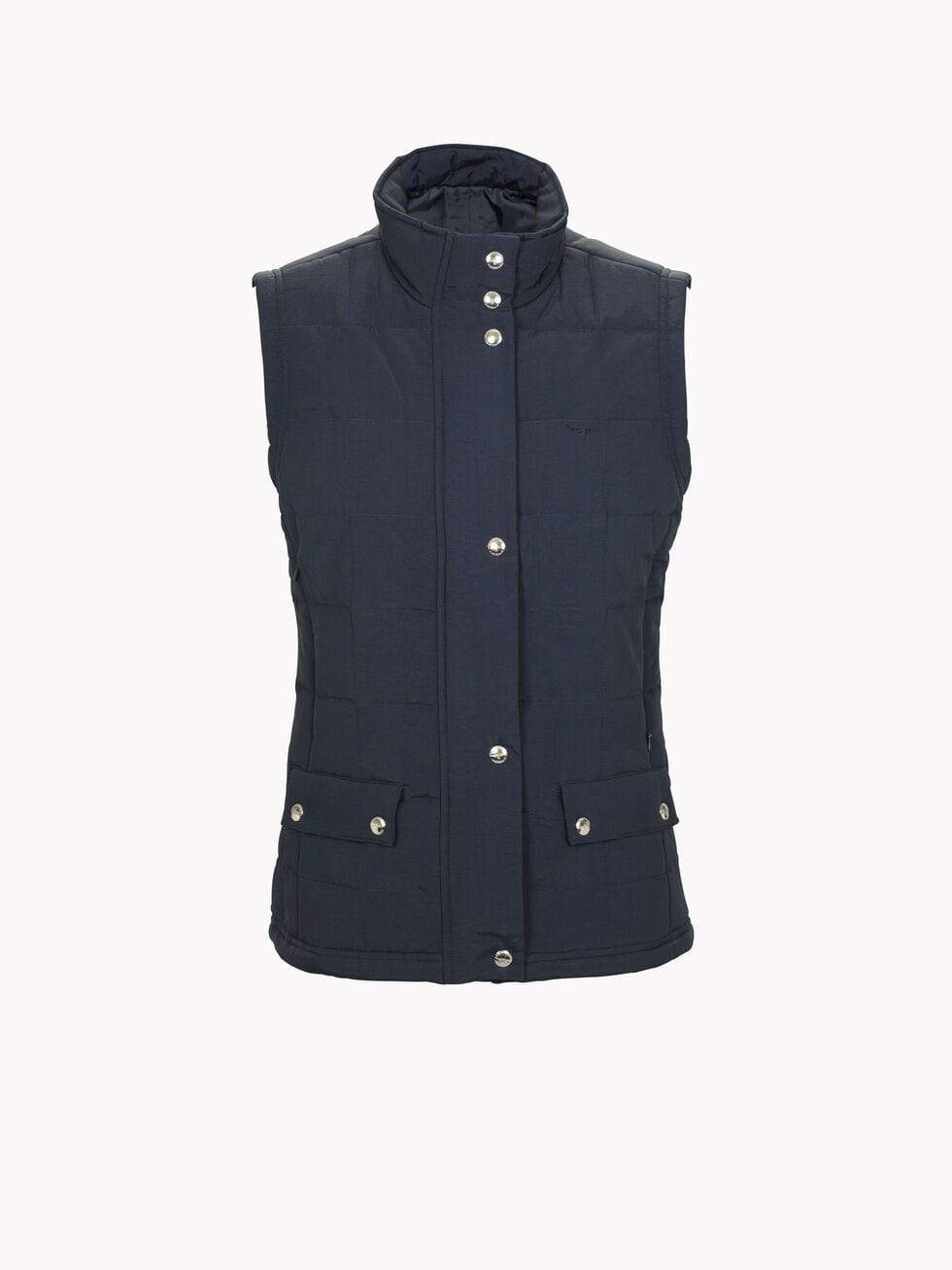 RM Williams Womens Wilpena Creek Vest Navy - Gympie Saddleworld & Country Clothing