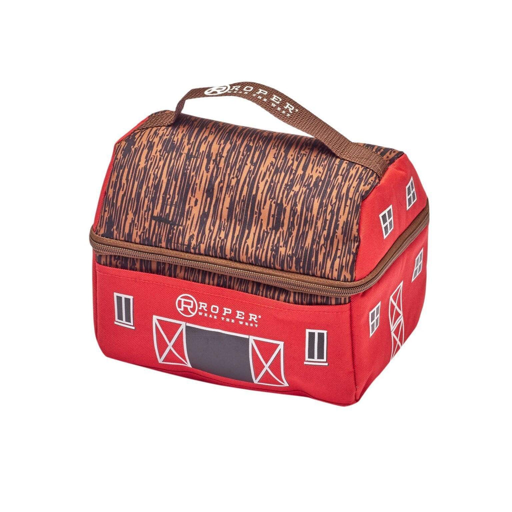 Roper Kids Boots Lunch Box LCH2000 Roper Kids Barn Red