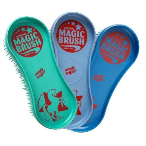 Saddlery Trading Brushes / Combs Magic Grooming Brush 3 Pack