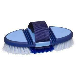 Showmaster Brushes & Combs Blue Showmaster Soft Grip Body Brush