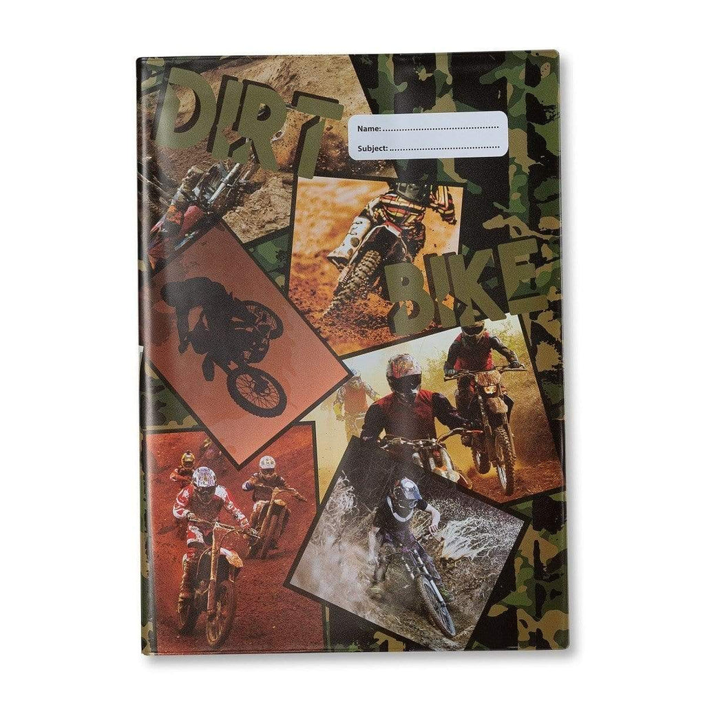 Dirt Bike A4 Bookcover (BCADBK1) - Gympie Saddleworld & Country Clothing