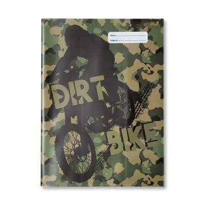 Dirt Bike A4 Bookcover (BCADBK2) - Gympie Saddleworld & Country Clothing