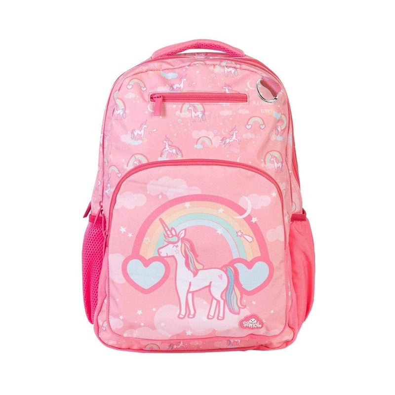 Spencil Back to School Rainbow Unicorn Triple Backpack