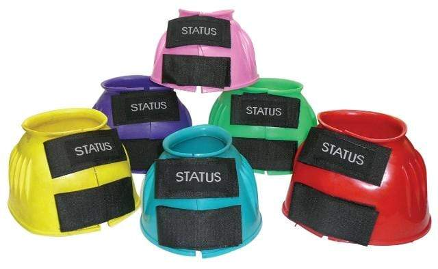 Status Bell Boots & Overreach Boots Large / Spearmint Status Velcro Bell Boots