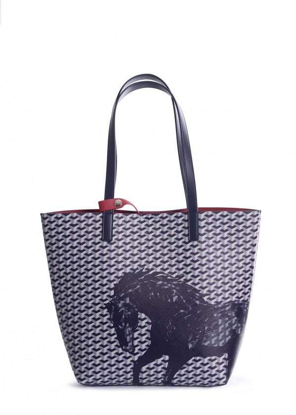Tote Thomas Cook T9S2914TOT Horse Print Tote - Gympie Saddleworld & Country Clothing