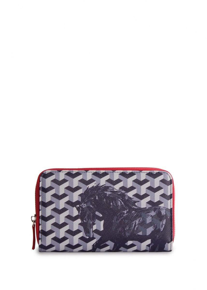 Wallet Thomas Cook T9S2915WLT Horse Print Long Wallet - Gympie Saddleworld & Country Clothing