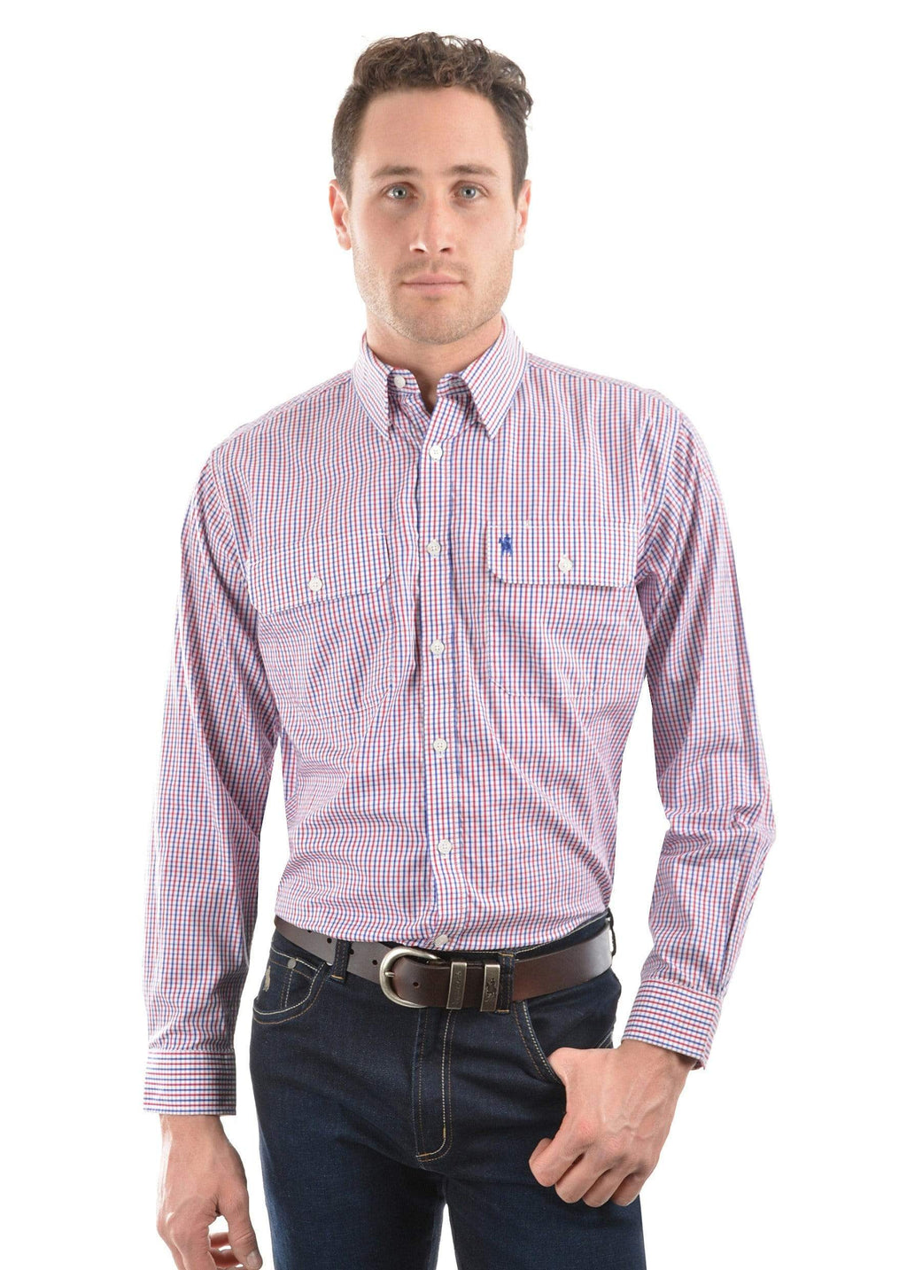 Thomas Cook Mens Wentworth Check Shirt TCP1115158 - Gympie Saddleworld & Country Clothing