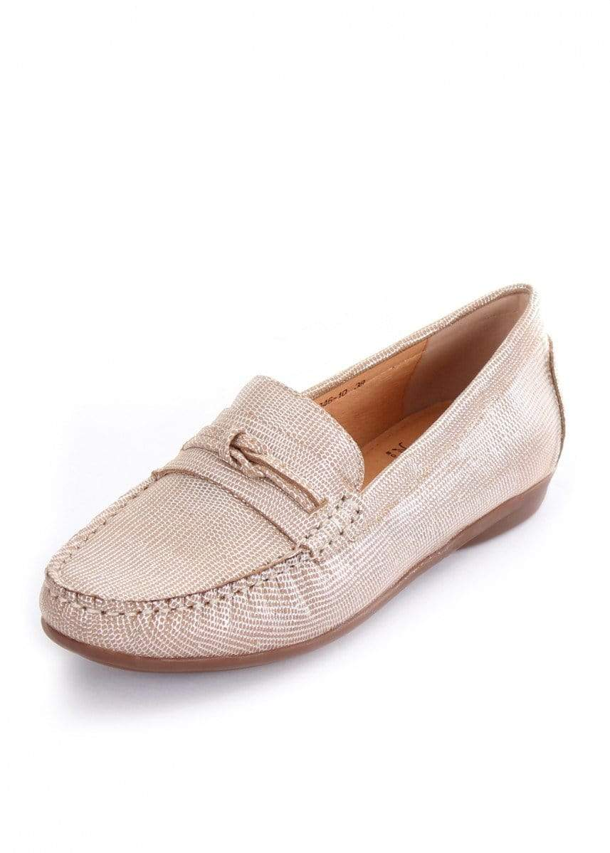 Thomas Cook Womens Boots & Shoes 7 / Beige Shoes Thomas Cook T9S28350 Womens Slip On Beige