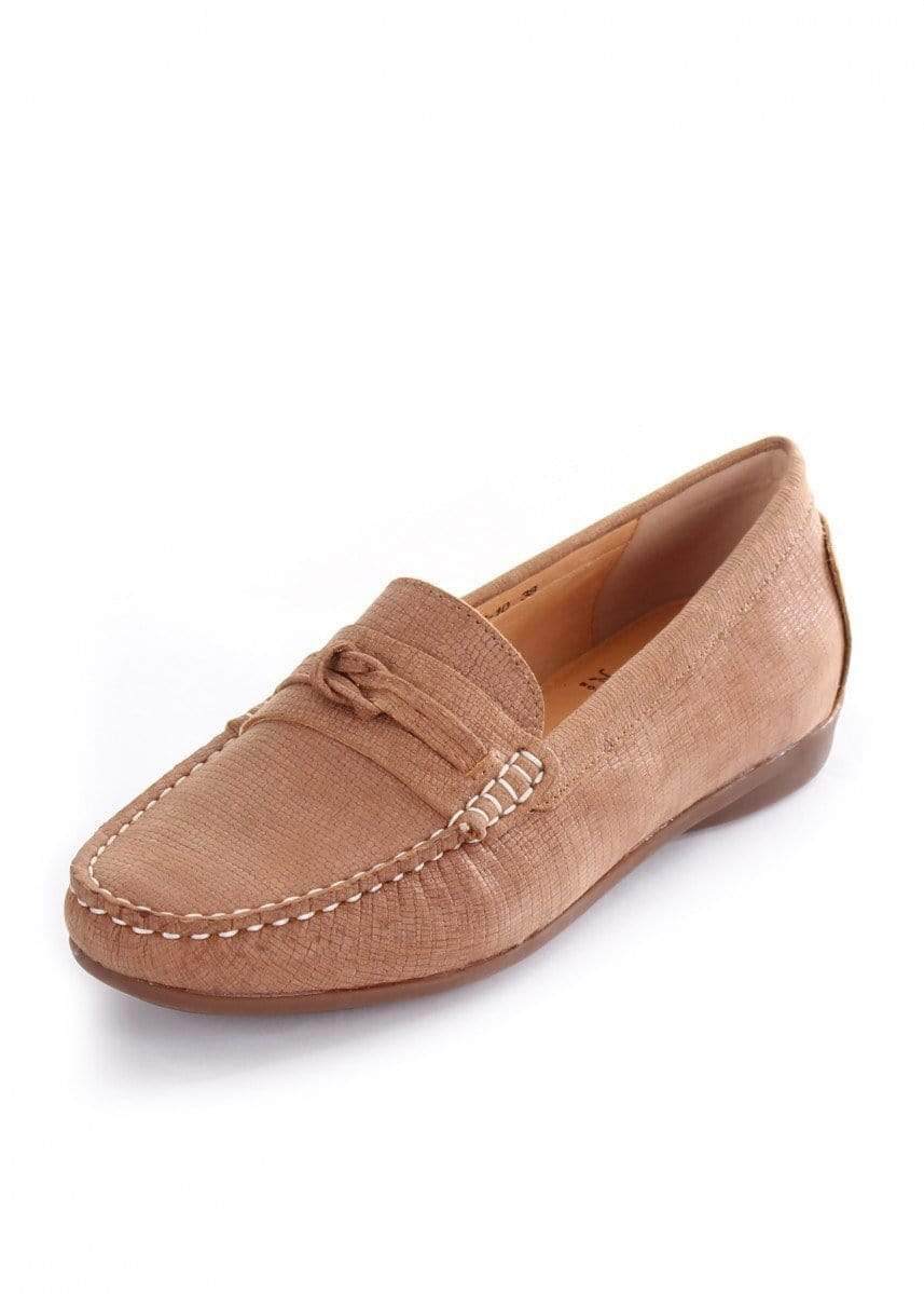 Thomas Cook Womens Boots & Shoes 7 / Tan Shoes Thomas Cook T9S28350 Womens Slip On Tan