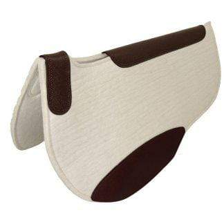 Junior Shaped Competitior Saddlepad27in 13mm - Gympie Saddleworld & Country Clothing