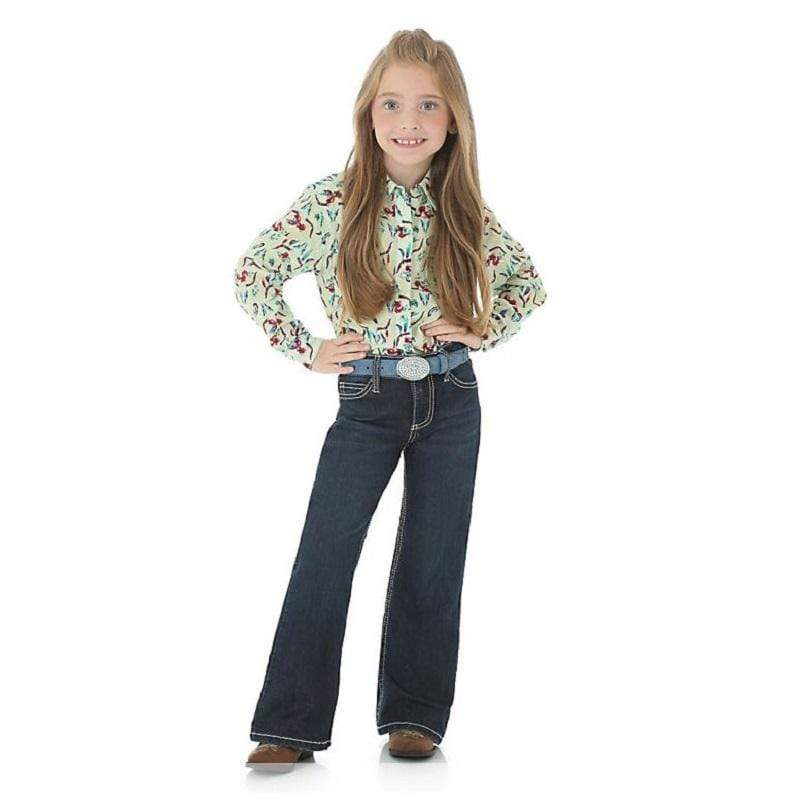 Wrangler Girls Retro Low Rise Jeans - Gympie Saddleworld & Country Clothing