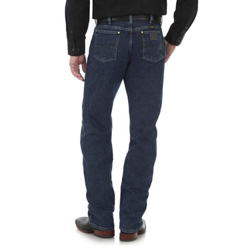 Wrangler Mens George Strait Regular Fit Jeans 47MGSDA - Gympie Saddleworld & Country Clothing