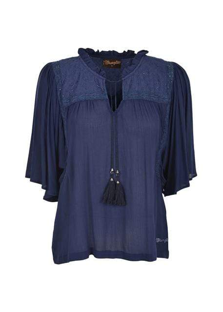 Wrangler Womens Martine Blouse X0S2597570 - Gympie Saddleworld & Country Clothing