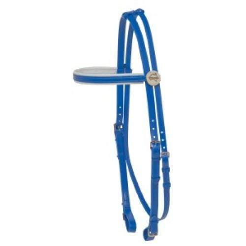 Y Line English Bridles & Reins Full / Blue Y Line Exercise Bridle (HSY1400)