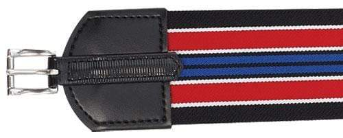 Zilco English Girths 90cm Zilco 75mm Wide Elastic Race Girth with 22mm Buckle