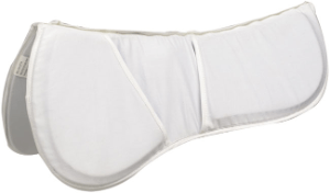 Zilco Riser Pad Gel Lite Deluxe White 831008 - Gympie Saddleworld & Country Clothing