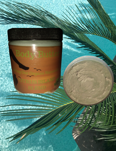 BODY BUTTER - CITRUS ISLAND BLISS