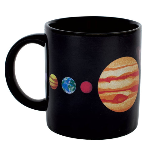 Planet Mug - Heat Changing Solar System Mug