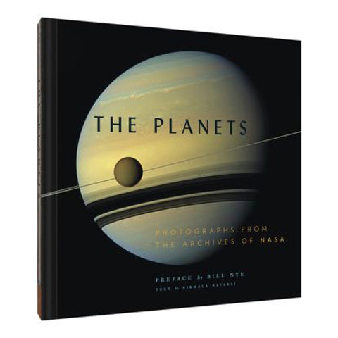 A book of cool photos of space from NASA featuring the planets.