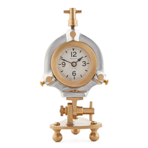 Steampunk clock for table or desk by Pendulux!