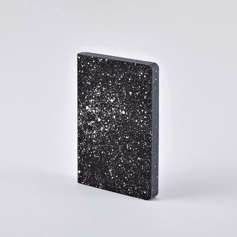 Leather milky way notebook! Designer space notebook by Nuuna Notebooks