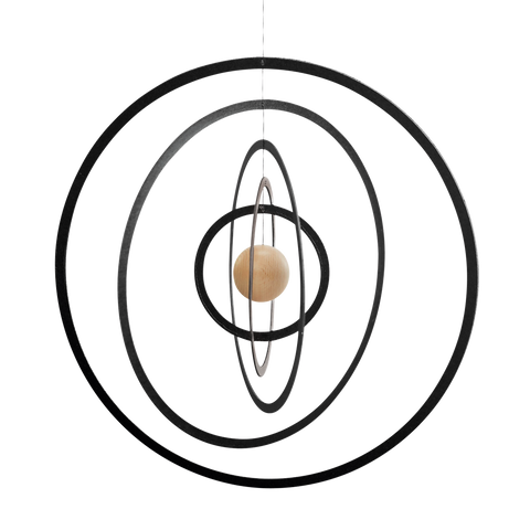 "Flensted Mobiles ""Science Fiction"" hanging mobile. Scandinavian home decor."
