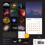"Back of Space Calendar 2021 called ""Stargazing"""
