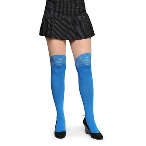 Star Wars tights with R2D2 design! Star Wars costume cosplay tights.