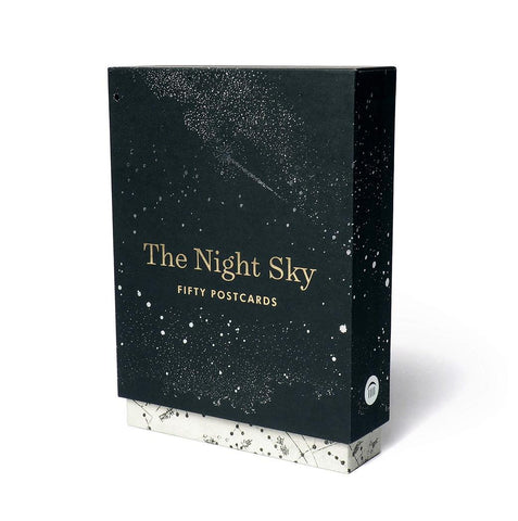 The Night Sky vintage space postcard set by Princeton Architectural Press