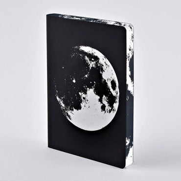 Designer leather moon notebook space gift