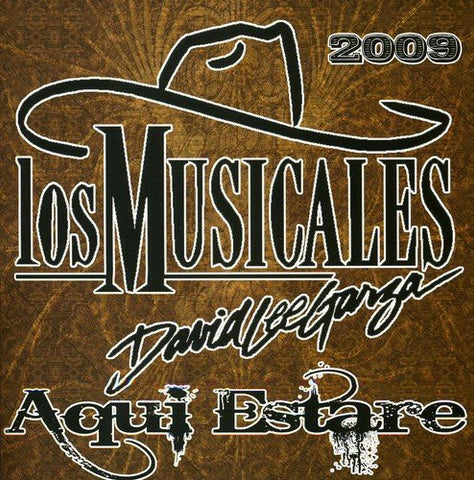 David Lee Garza - Aqui Estare 2009 (CD)