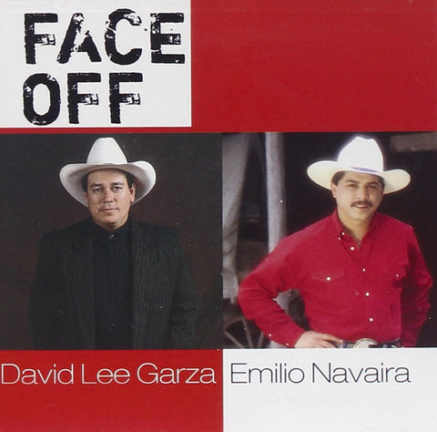 David Lee Garza / Emilio Navaira - Face Off (CD)