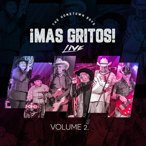 Hometown Boys - Mas Gritos! Live Vol. 2 (CD)