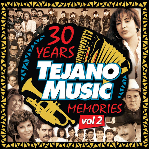 30 Years Tejano Music Memories Vol. 2 (CD)