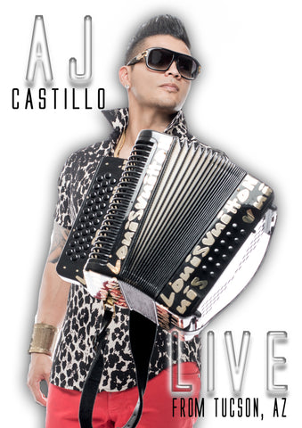 AJ Castillo - Live From Tucson, AZ (DVD)