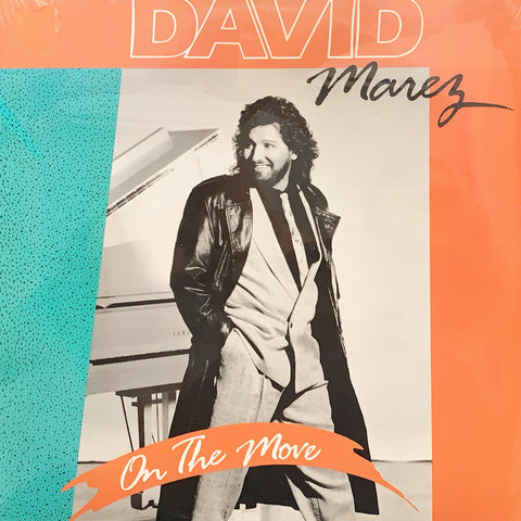 David Marez - On The Move (Vinyl)