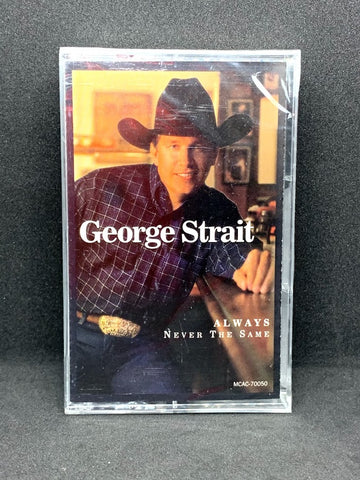 George Strait - Always Never The Same (Cassette)
