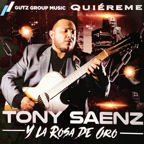 Tony Saenz (Tony Tigre) - Quiereme (CD)