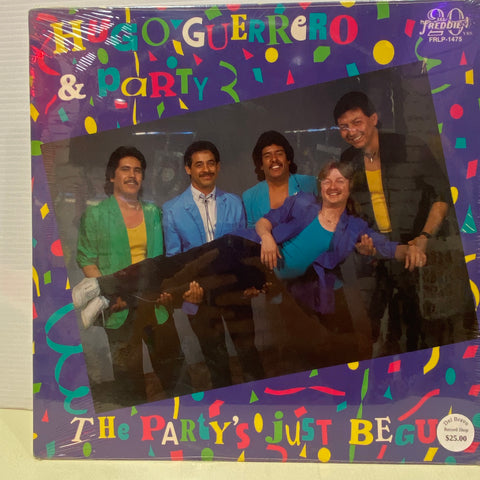 Hugo Guerrero & Party - The Party Just Begun  (Vinyl)