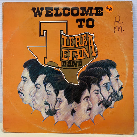 Tierra Tejana Banda - Welcome To (Vinyl)