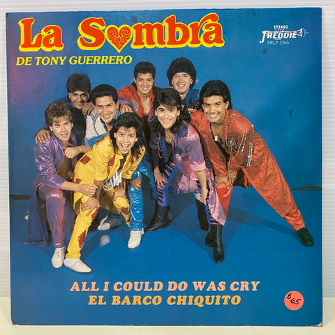 La Somba de Tony Guerrero - All I Could Do Was Cry - El Barco Chiquito ( Vinyl)