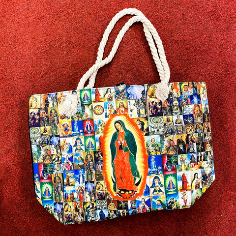 Virgen de Guadalupe Large Bag